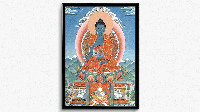The Medicine Buddha by Kumar Lama